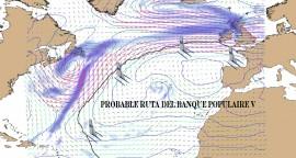 Posible ruta del Banque Populaire V